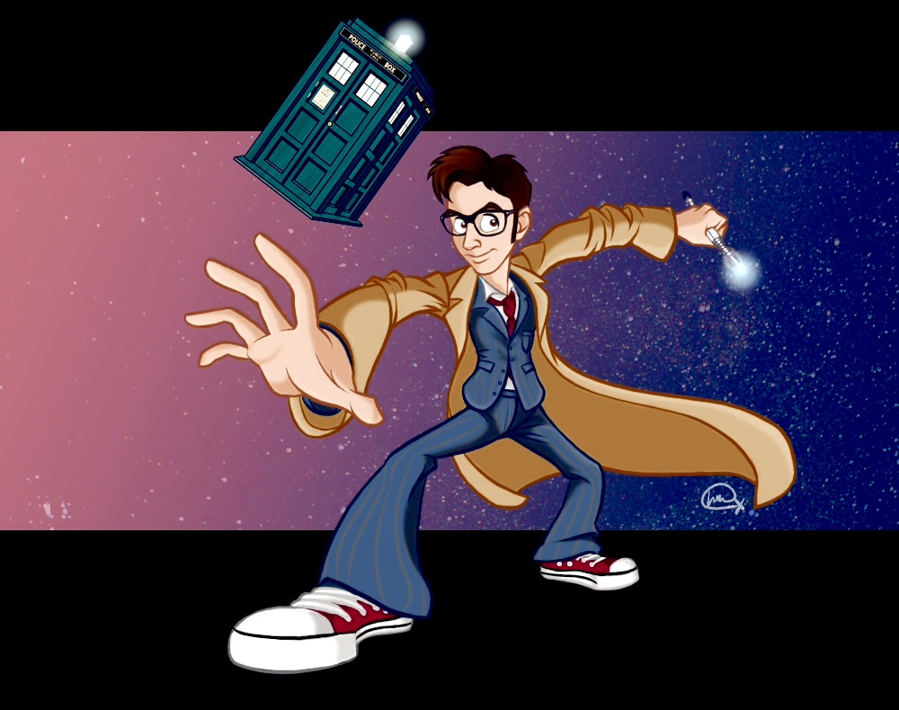 The Tenth Doctor by Lucy Crewe