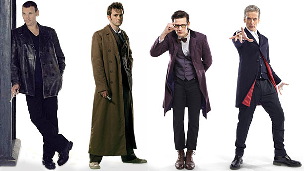The Four Doctor's - Doctor Who (c) BBC