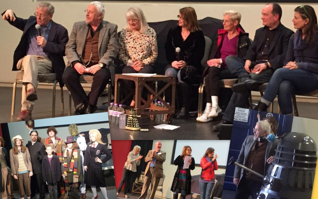 Some of the highlights from last year's Bedford Who Charity Con. Guests included John Leeson, Terry Molloy, Anneke Wills, Nicola Bryant, Ailsa Berk, Mike Tucker and Sophie Aldred.