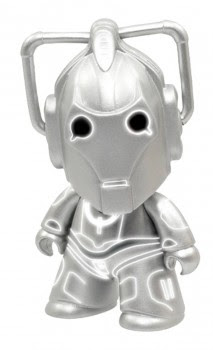 "DOCTOR WHO TITANS: ""ARMY OF GHOSTS"" CYBERMAN 3-INCH VINYL FIGURE"