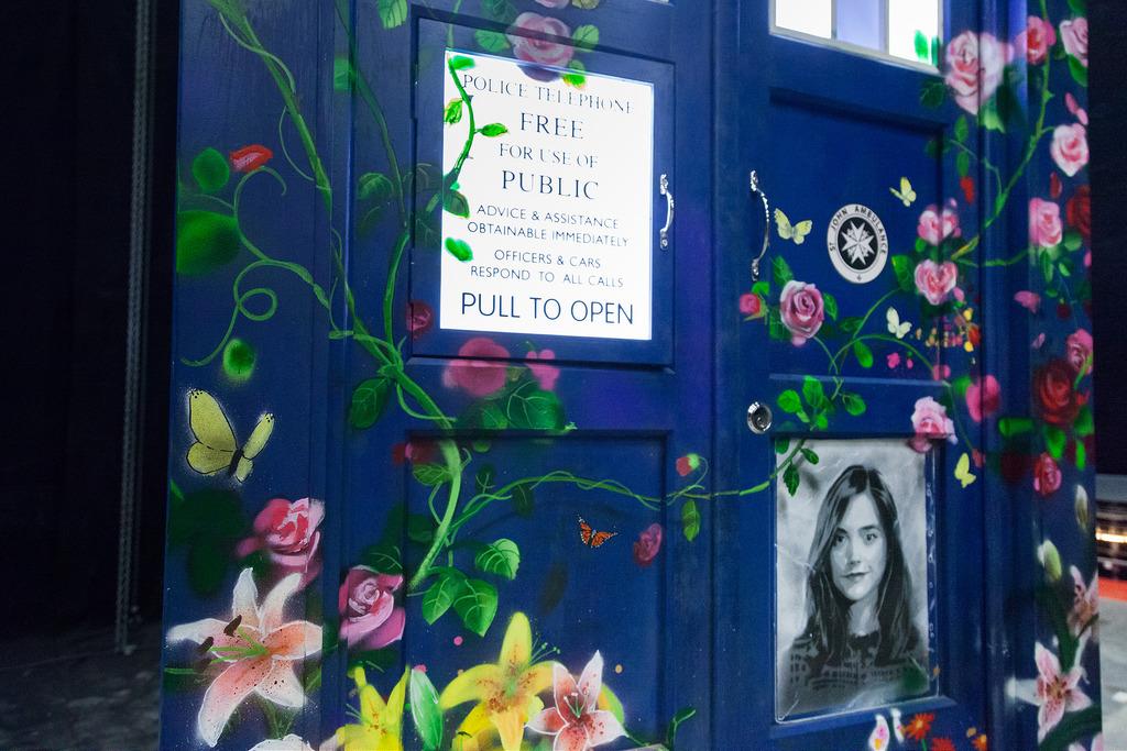 Clara's Memorial TARDIS