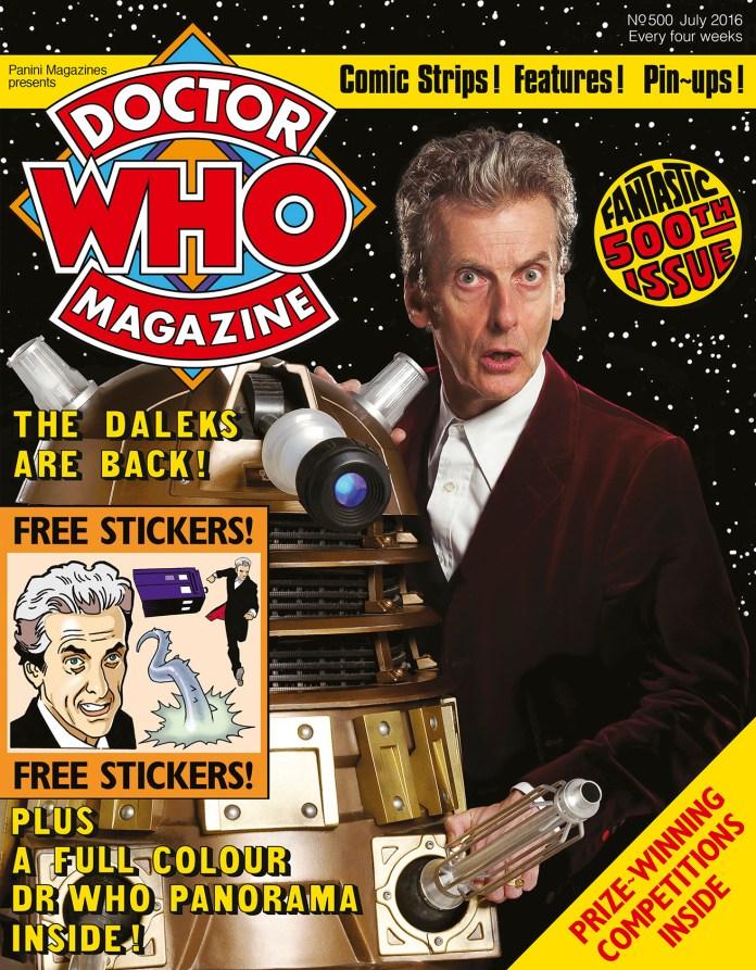Doctor Who Magazine - Issue 500 (c) Panini