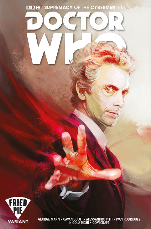 Doctor Who Superacy of the Cybermen #1 Books a Million Variant by Claudia Caranfa - Comic Titan