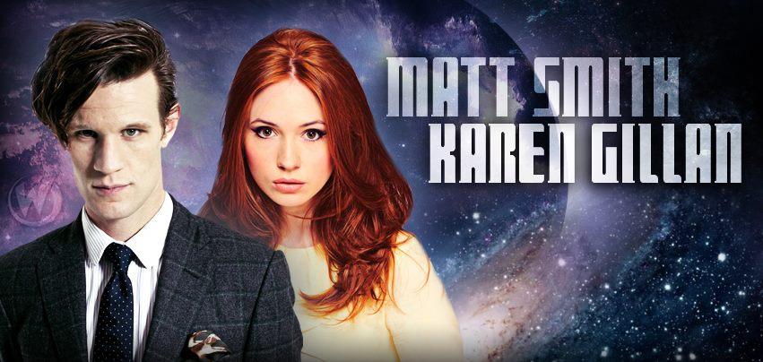 Matt Smith and Karen Gillan Wizard World Austin