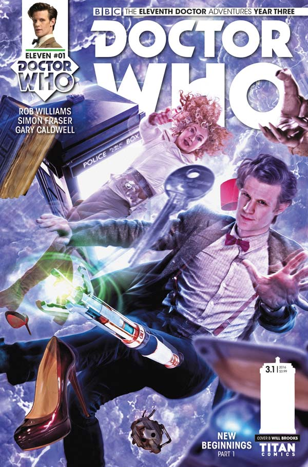 Doctor Who: The Eleventh Doctor Year Three #1