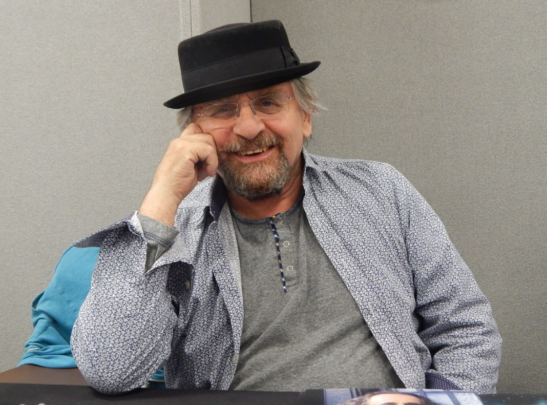 Sylvester McCoy - London Film and Comic Con July 2016 Photo by Daniel Rice