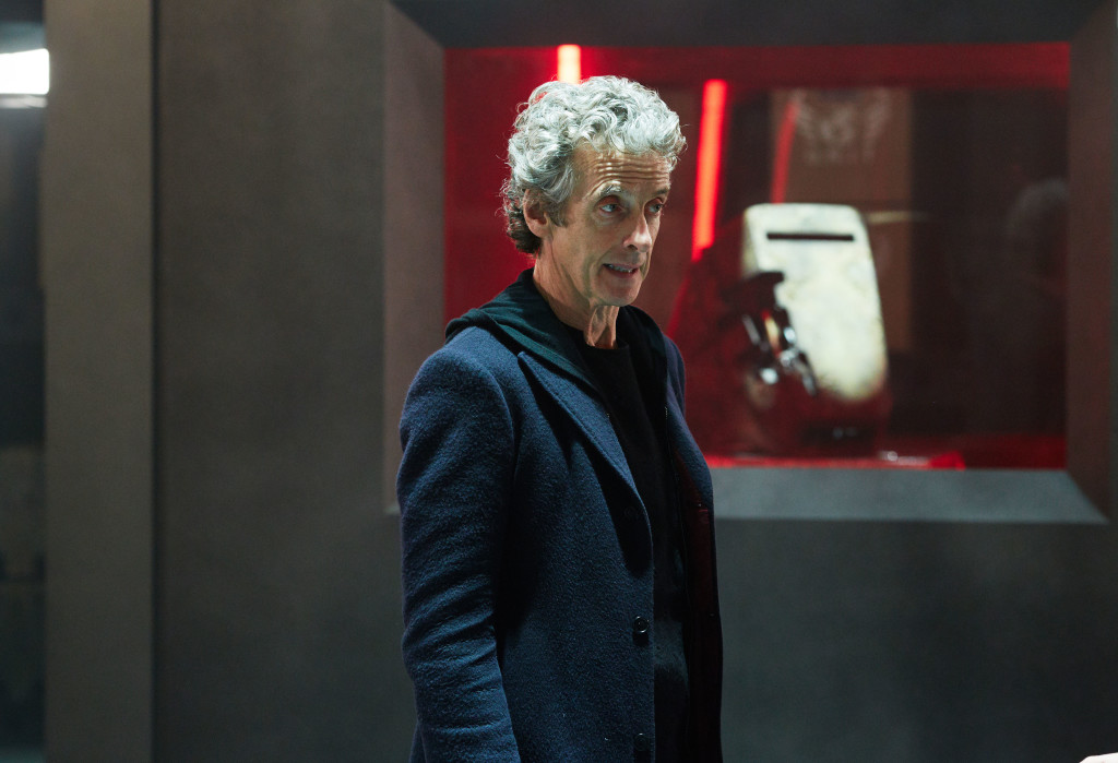 Doctor Who - Series 9 - INVERSION OF THE ZYGONS (By Peter Harness and Steven Moffat) (No. 8) - Picture Shows: Doctor Who (PETER CAPALDI) - (C) BBC - Photographer: Simon Ridgway