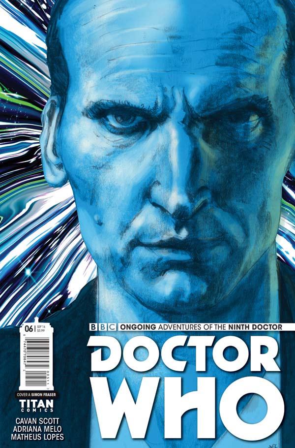 TITAN COMICS - Doctor Who: Ninth Doctor #6 Cover A Simon Fraser