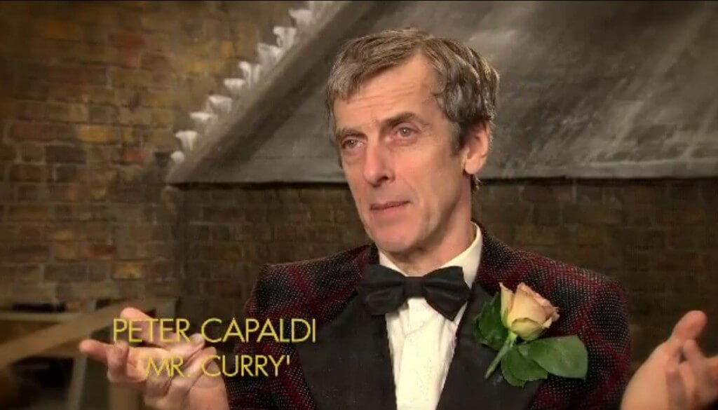 Peter Capaldi as Mr Curry - Paddington (c) Heyday Films