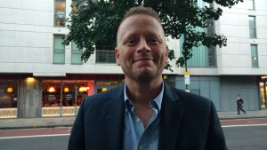 Series Creator Patrick Ness at the Class Premiere, Oct 2016