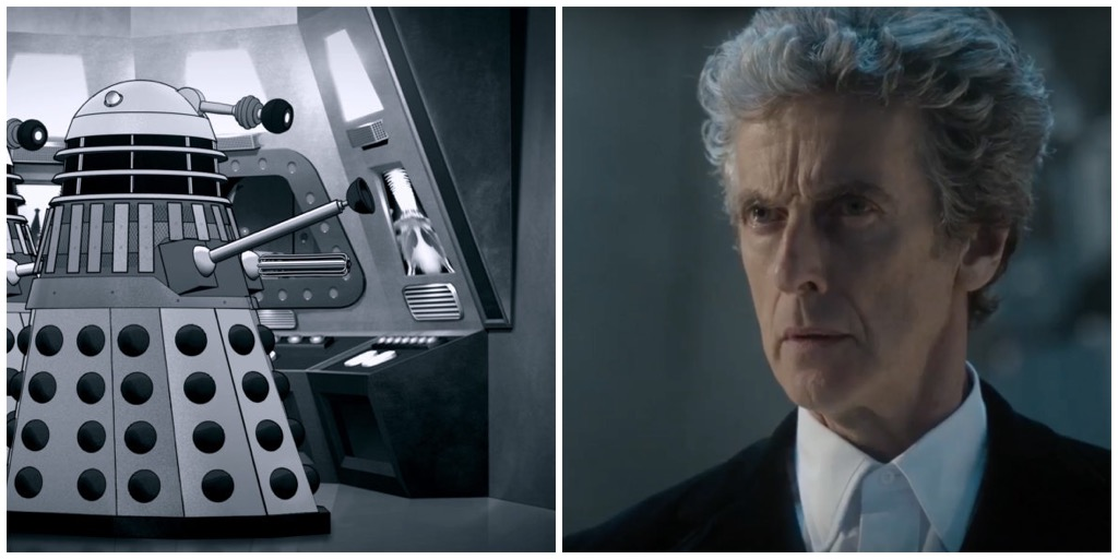 The Power of the Daleks and Peter Capaldi in The Return of Doctor Mysterio