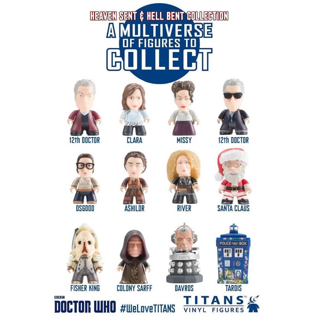Titan Merchandise DoctorWho Heaven Sent and HellBent Collection!