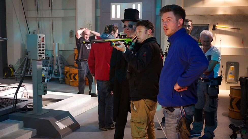 Doctor Who Series 9 Episode 3 - Under the Lake - Paul Kaye & Crew © BBC