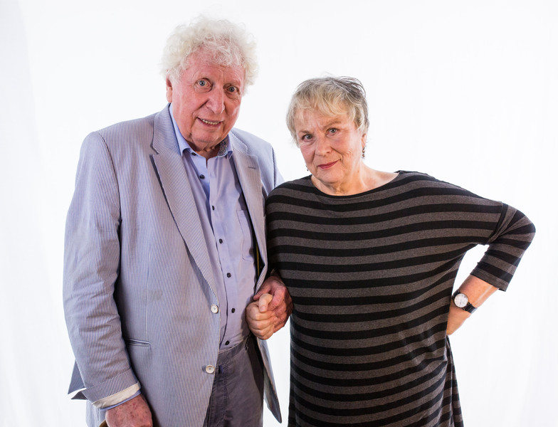 Tom Baker and Pam Ferris - Doctor Who - Classic Doctors, New Monsters Volume 2 (c) Big Finish