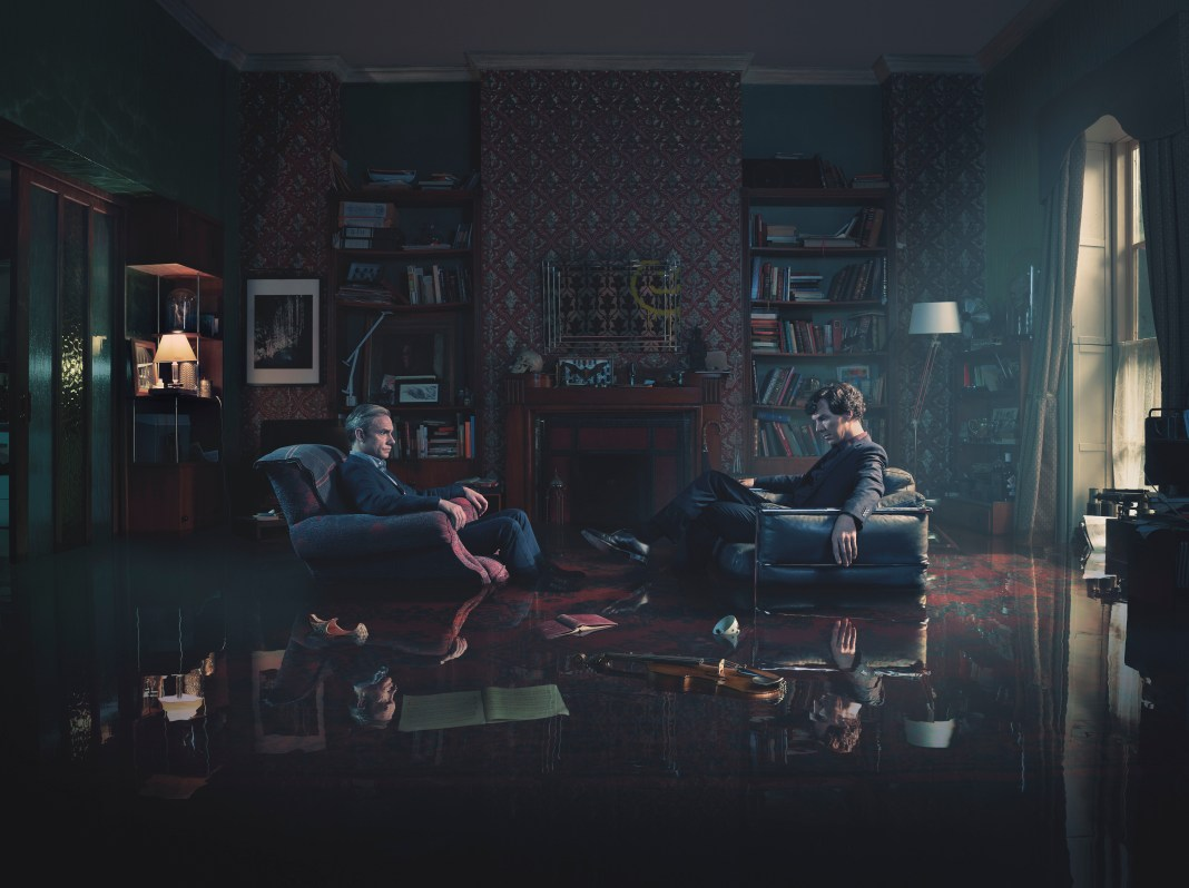 Sherlock - TX: 01/01/2017 - Episode: Sherlock S4 - Generic (No. 1) - Picture Shows: Dr John Watson (MARTIN FREEMAN), Sherlock Holmes (BENEDICT CUMBERBATCH) - (C) Hartswood Films - Photographer: Todd Antony