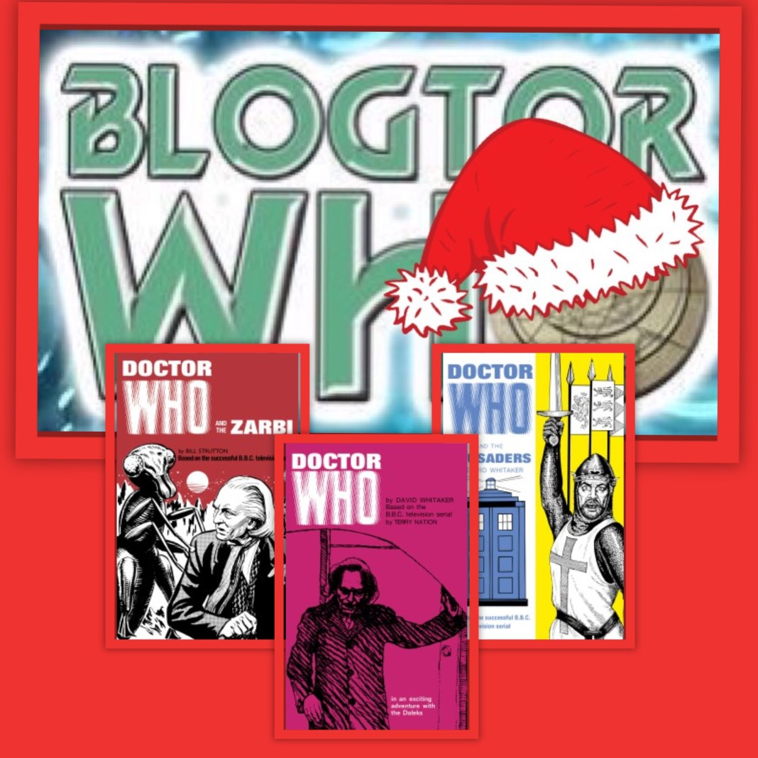 12 Days of Christmas Giveaway - Doctor Who Classic Books (c) BBC Books