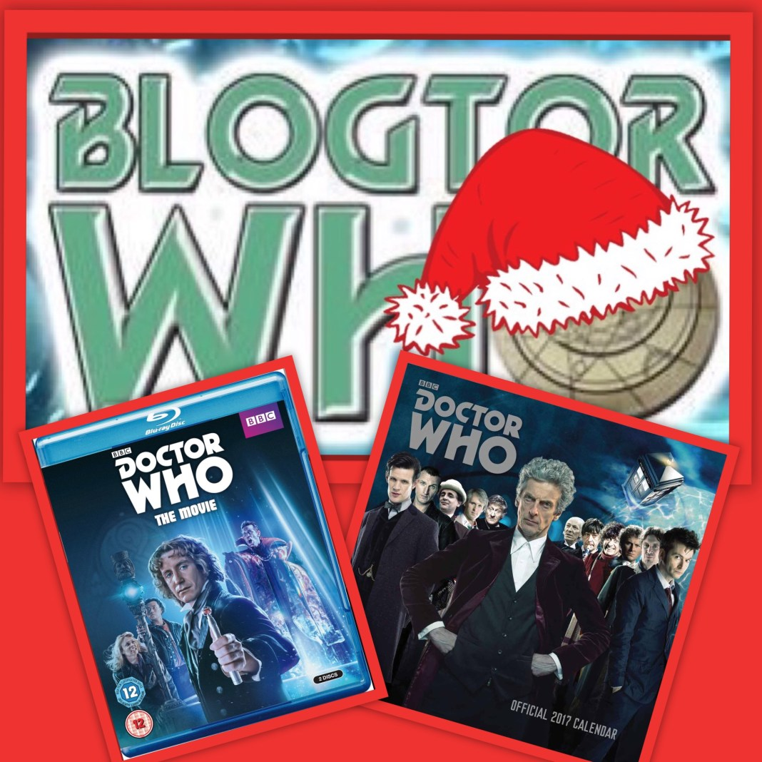 12 Days of Christmas Giveaway - Doctor Who - The Movie Blu-ray and Doctor Who 2017 Square Calendar