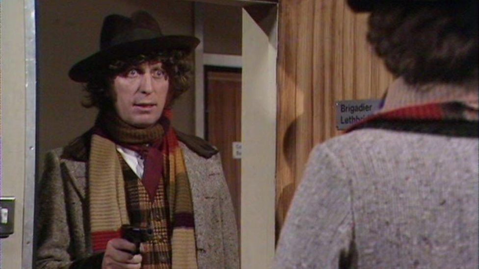 The Doctor (TOM BAKER) Doctor Who - The Android Invasion © BBC