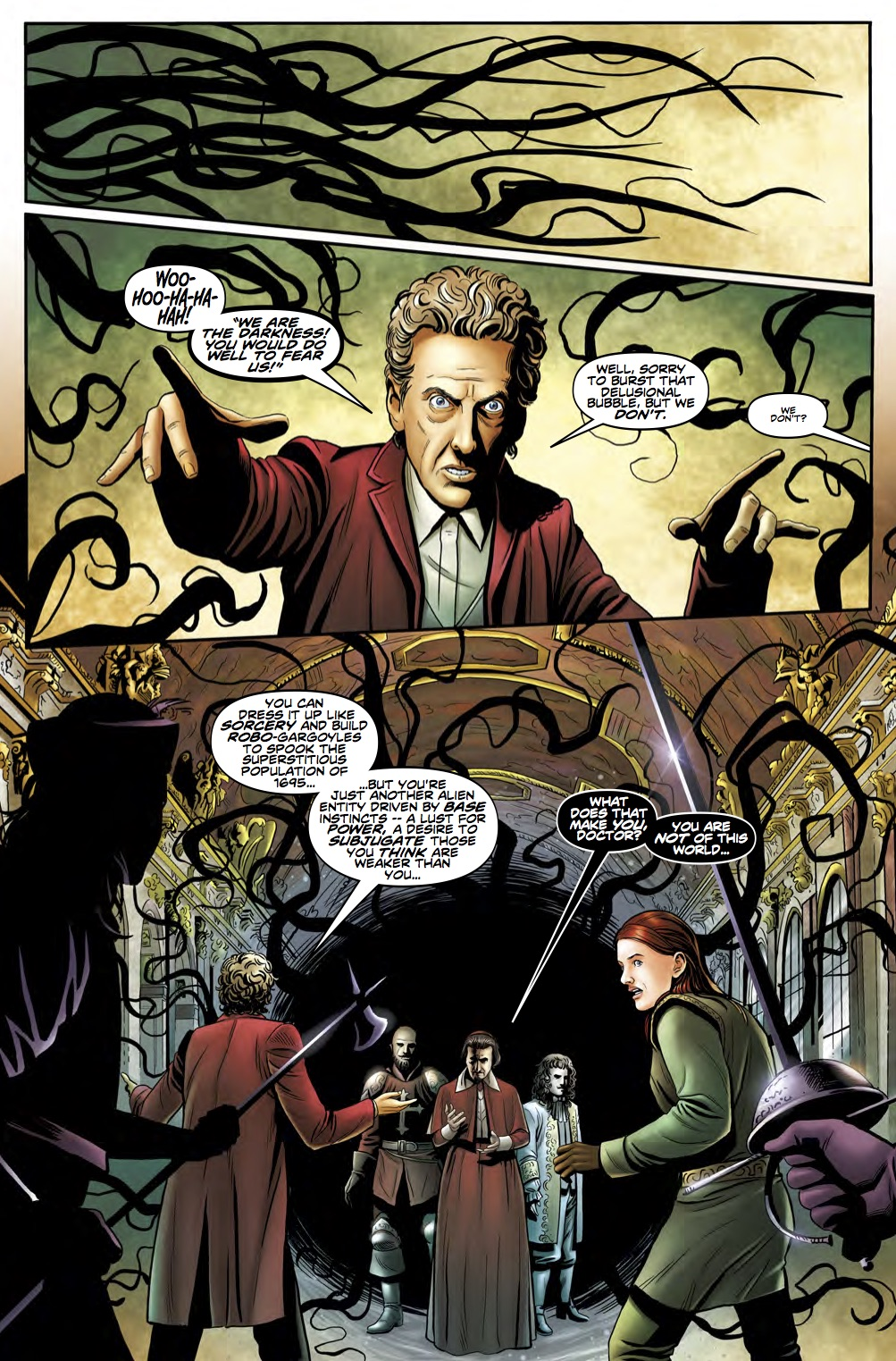 TITAN COMICS - DOCTOR WHO 12th #2.13 - Preview 1