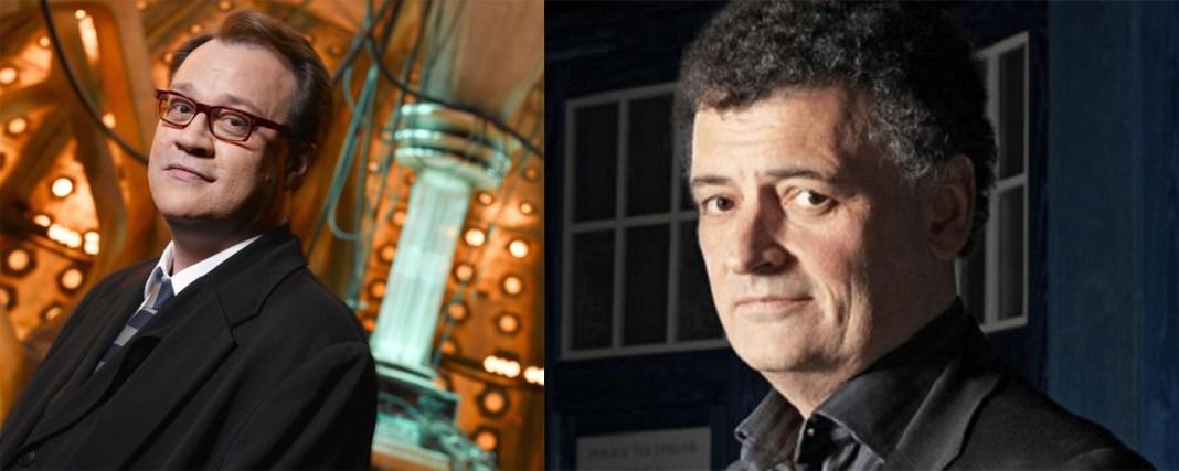 Doctor Who Showrunners - Russel T Davis and Steven Moffat