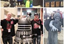 Cosplayers & Merchandise at Calgary Expo 2017