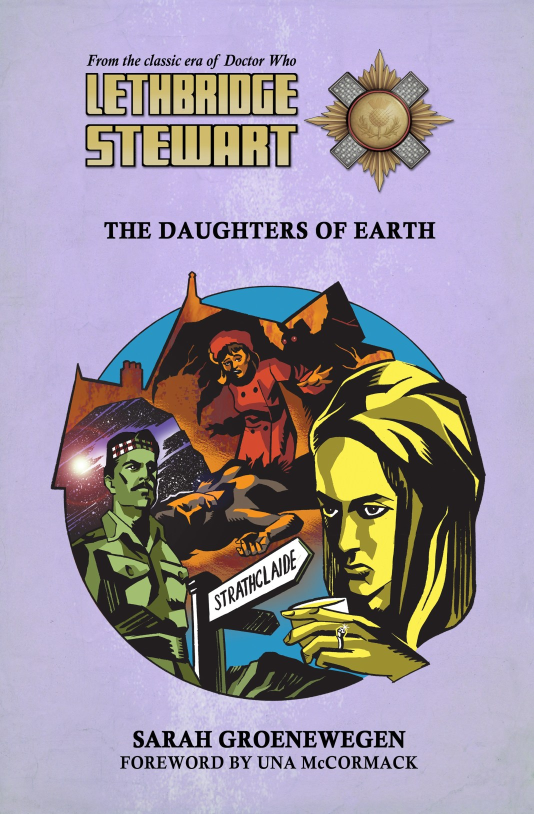 Lethbridge-Stewart: The Daughters of Earth © Candy Jar Books