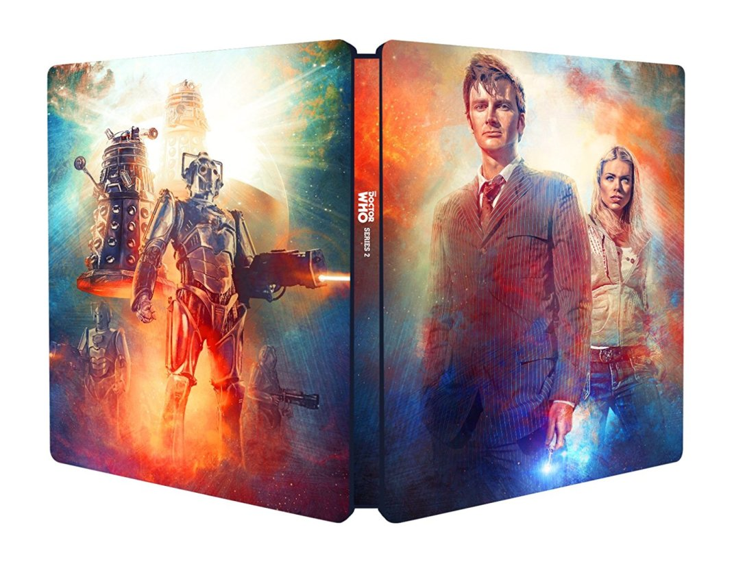 Doctor Who Series 2 Steelbook Outside