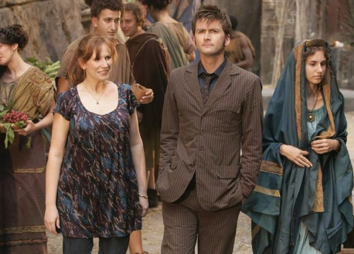 Doctor Who Fires of Pompeii Catherine Tate David Tennant