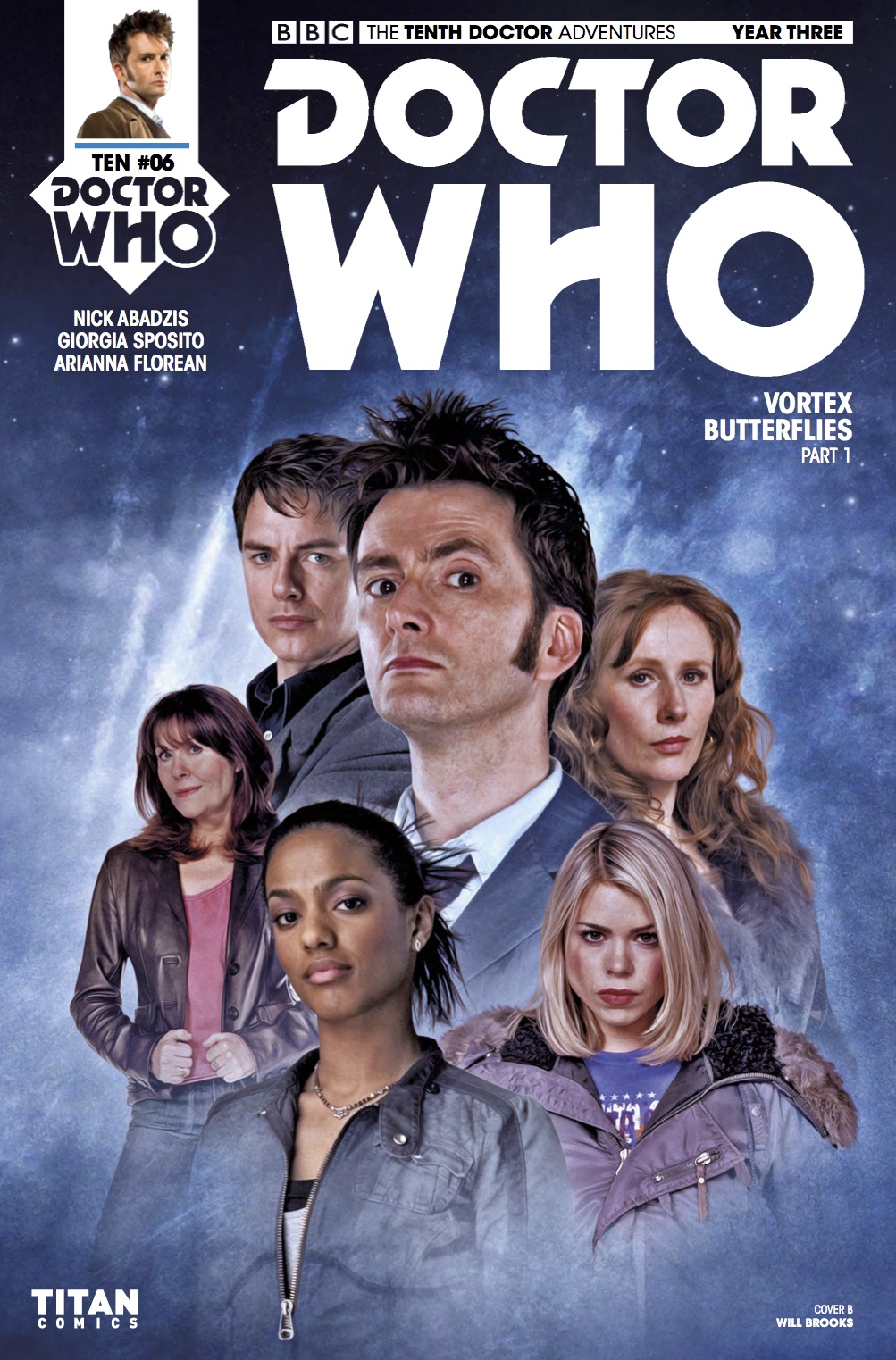 D​OCTOR WHO: THE TENTH DOCTOR YEAR 3 #6​ - Cover C: ​Will Brooks