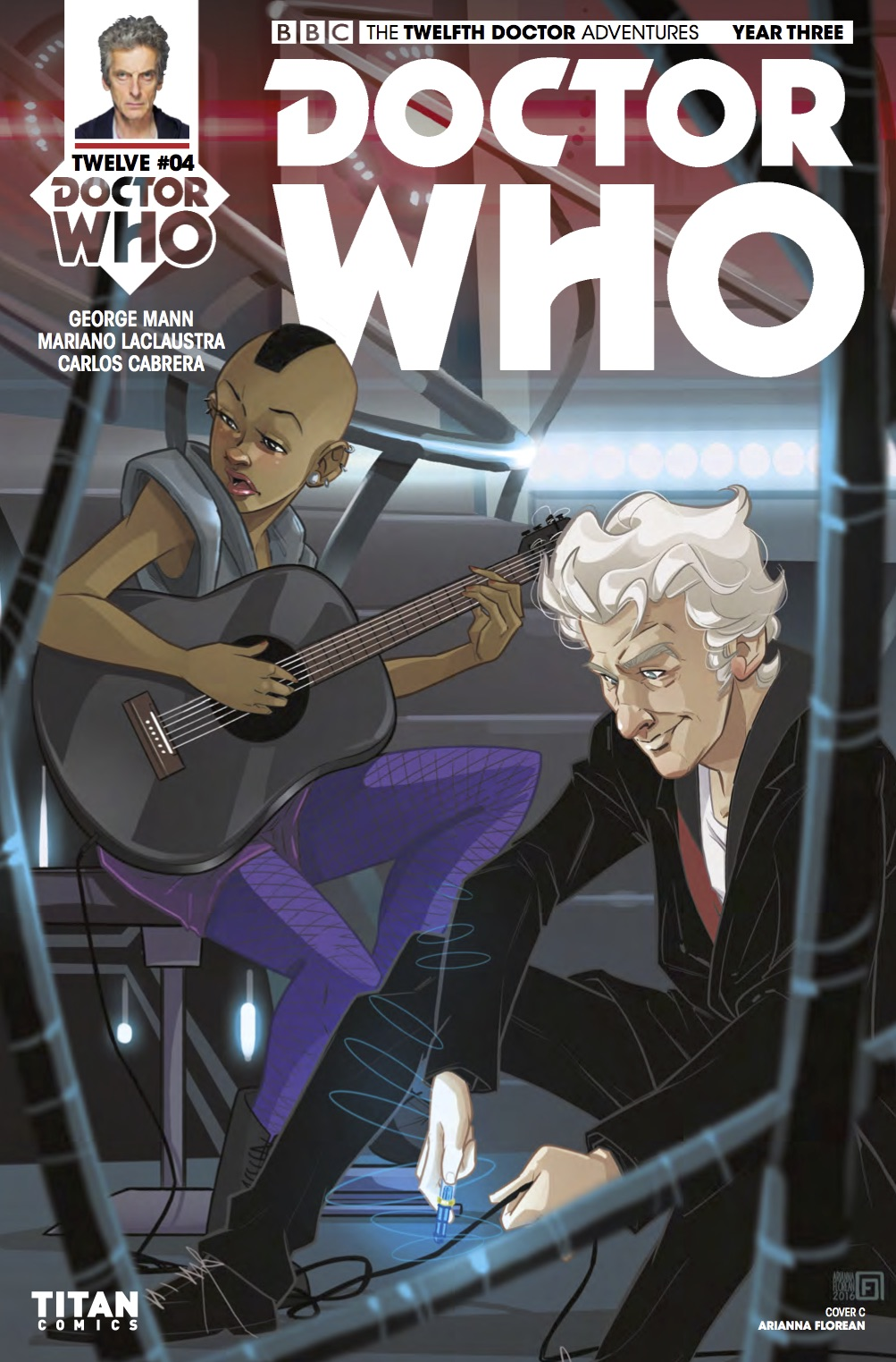 TITAN COMICS - DOCTOR WHO: TWELFTH DOCTOR YEAR 3 #4​ -Cover C: Adrianna Florian