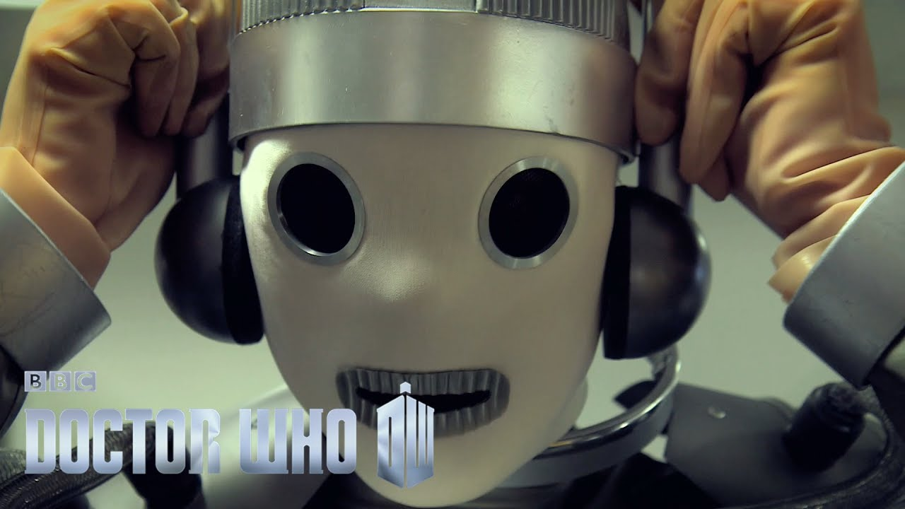 Doctor Who Series 10 - Making a Mondasian Cyberman - Blogtor Who