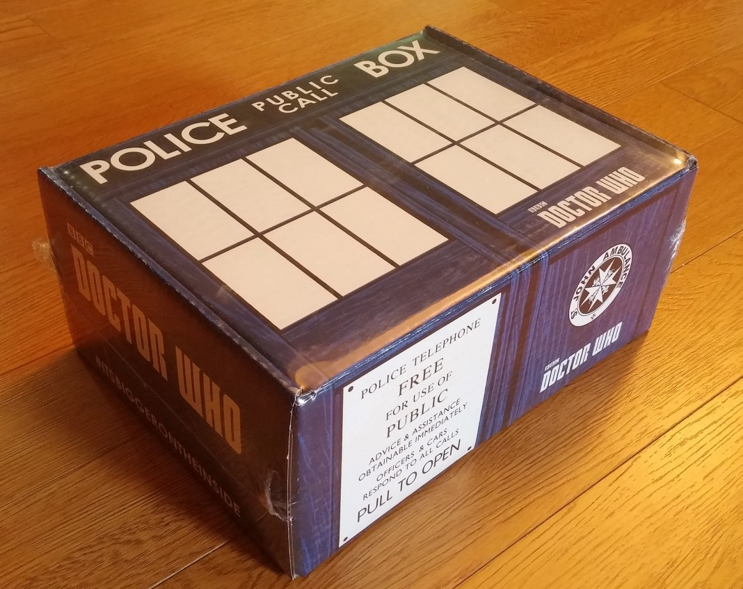 Doctor Who Nerd Block Outer Case