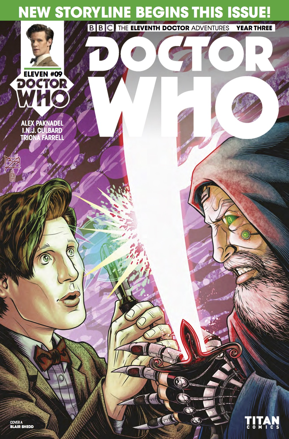 TITAN COMICS - DOCTOR WHO 11TH YEAR THREE #9
