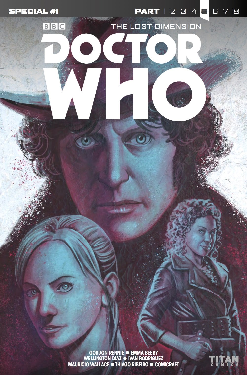 DOCTOR WHO: THE LOST DIMENSION SPECIAL #5