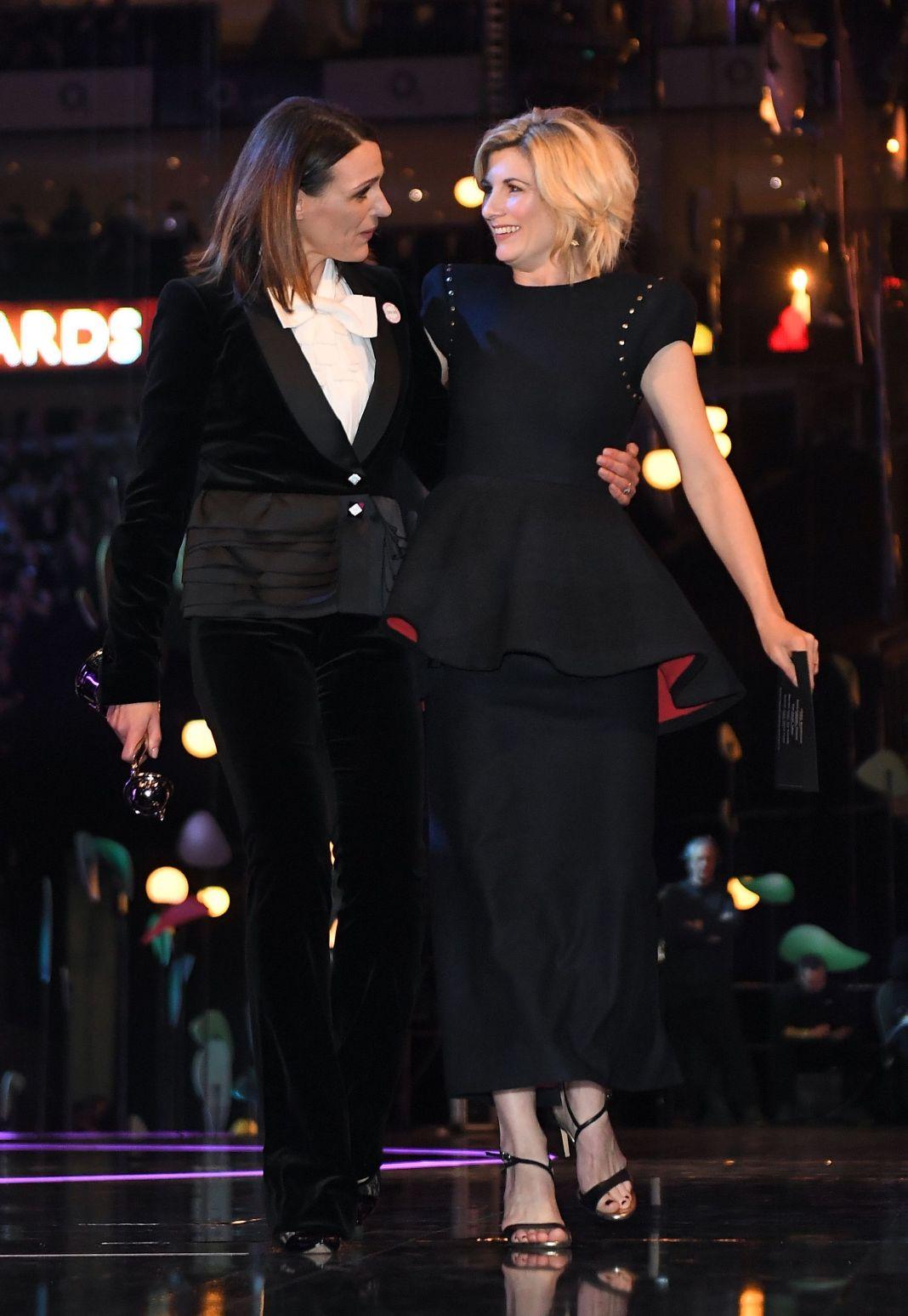 National Television Awards, Backstage, O2, London, UK - 23 Jan 2018 - James Gourley/REX/Shutterstock