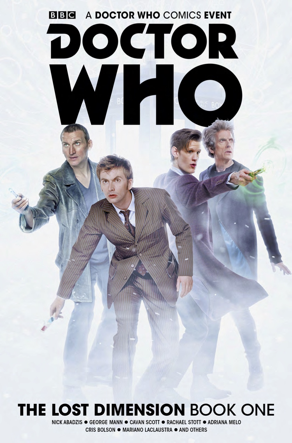 Doctor Who: The Lost Dimension Volume One. Cover by Will Brooks. (c) BB