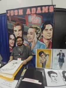 Doctor Who comic artist Josh Adams