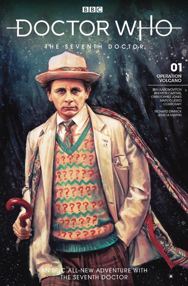 Doctor Who: The Seventh Doctor #1 from Titan Comics Cover by Alice X. Zhang (c) Titan Comics