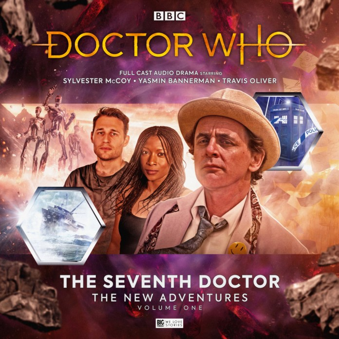 Doctor Who: The Seventh Doctor Adventures Volume 1. Cover art by Will Brooks (c) Big Finish Productions