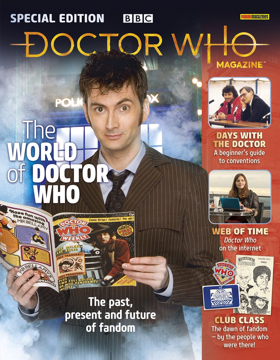 DWM Special: The World Of Doctor Who Front Cover