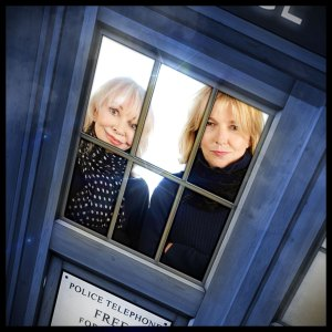 Jo Grant (Katy Manning) and Jemma Regrave (Kate Stewart)