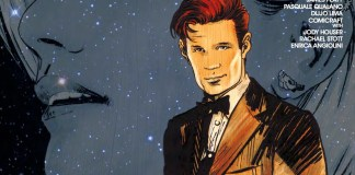 Doctor Who: Road to the Thirteenth Doctor #2 - The Eleventh Doctor Cover A Art by Robert Hack (c) Titan Comics, BBC