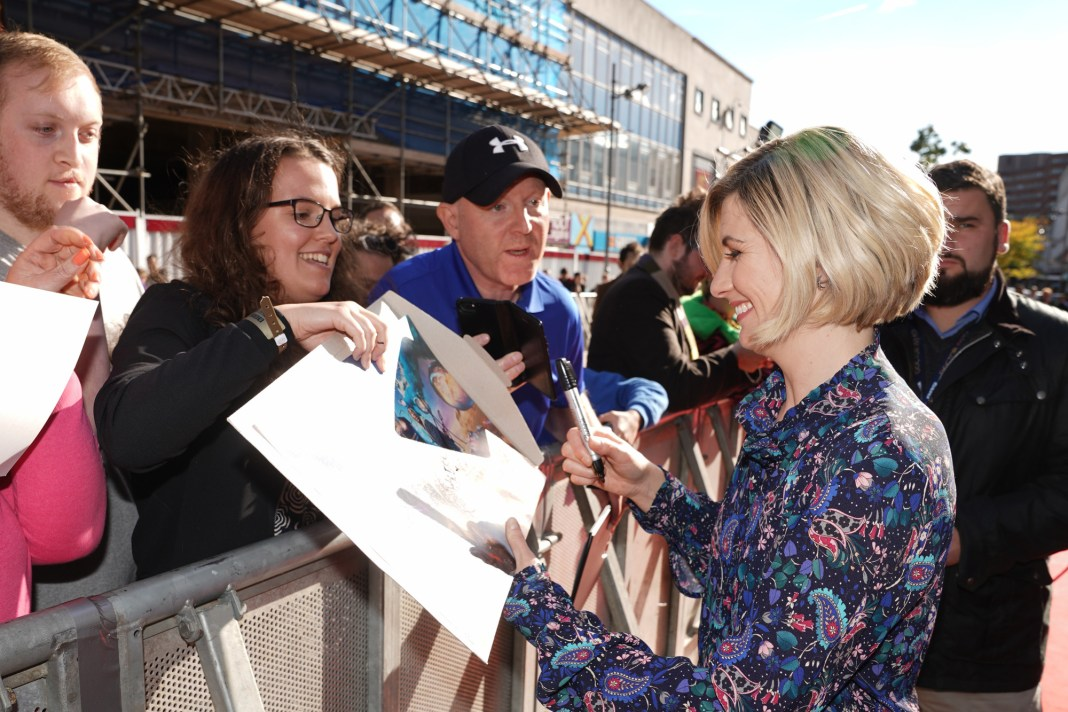 Doctor Who Series 11 - TX: 24/09/2018 - Episode: n/a (No. n/a) - Picture Shows: Red Carpet Launch The Doctor (JODIE WHITTAKER) - (C) BBC - Photographer: Ben Blackall