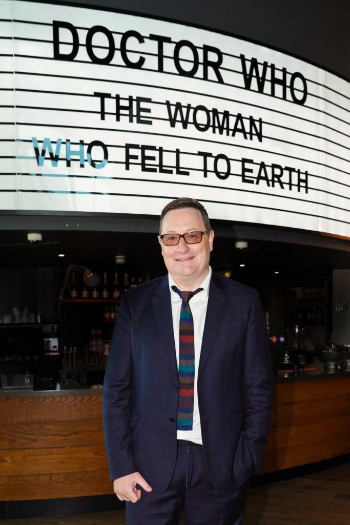 Doctor Who Premiere - Showrunner Chris Chibnall - (C) BBC - Photographer: Ben Blackall