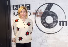 Jodie Whittaker on BBC 6 with Shaun Keaveny - (c) BBC