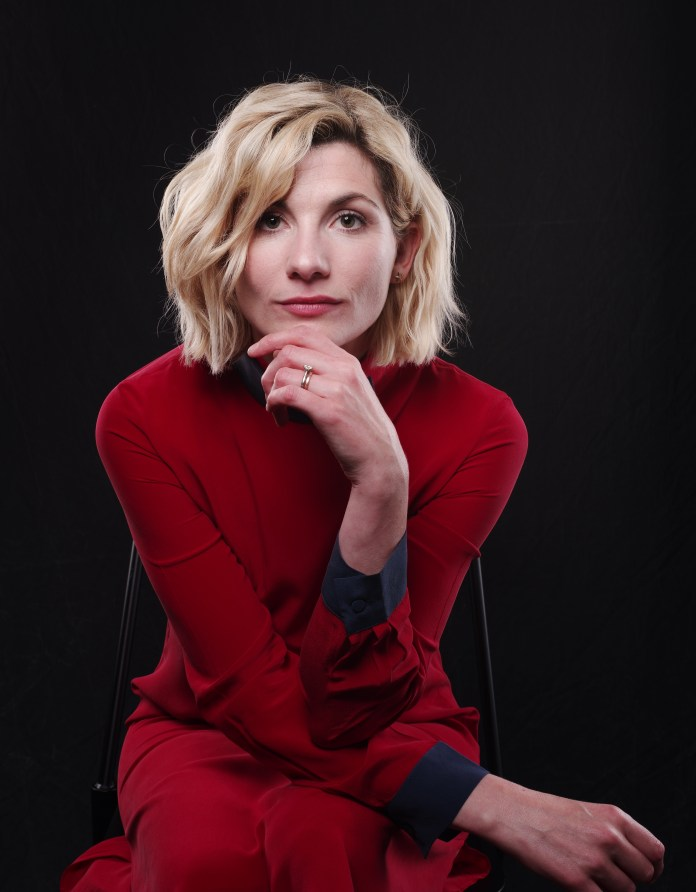 Jodie Whittaker - 'Doctor Who' Exclusive - Variety Portrait Studio Comic-Con, Day 3, San Diego, USA - 21 Jul 2018 - Photo by Andrew H. Walker