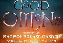 Good Omens Panel Poster