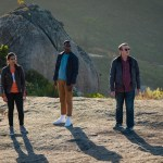 Doctor Who - Series 11 - Ep2 - The Ghost Monument - Yaz (MANDIP GILL), Ryan (TOSIN COLE), Graham (BRADLEY WALSH) - (C) BBC / BBC Studios - Photographer: Coco Van Opens