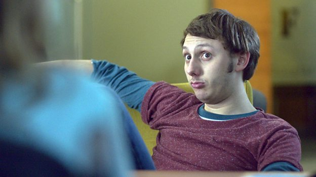 Jonny Dixon, who plays Carl in Doctor Who: The Woman Who Fell to Earth, as James in Boy Meets Girl (c) BBC