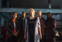 Doctor Who - Series 11 - Episode 1 - The Woman Who Fell To Earth - Yaz (MANDIP GILL), Ryan (TOSIN COLE), The Doctor (JODIE WHITTAKER), Graham (BRADLEY WALSH), Grace (SHARON D CLARKE) - (C) BBC / BBC Studios - Photographer: Sophie Mutevelian